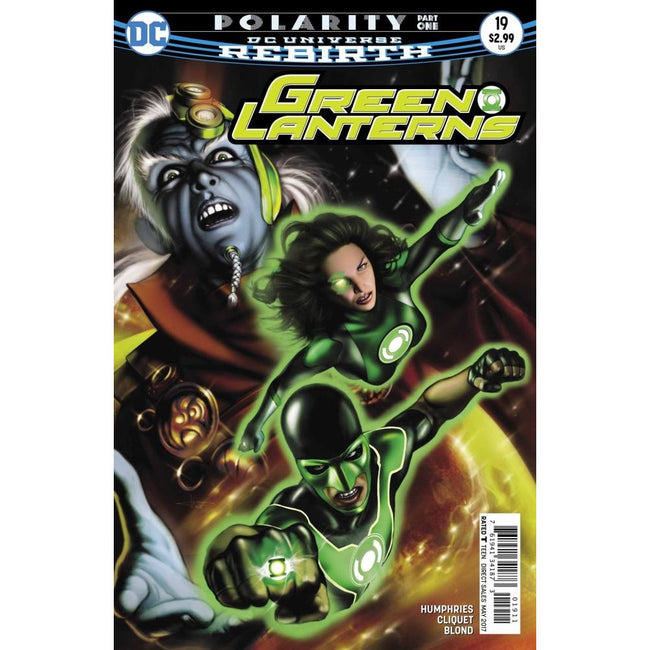 GREEN LANTERNS #19 - Comics