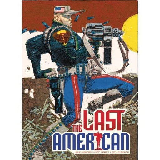 LAST AMERICAN TPB - Books-Graphic-Novels