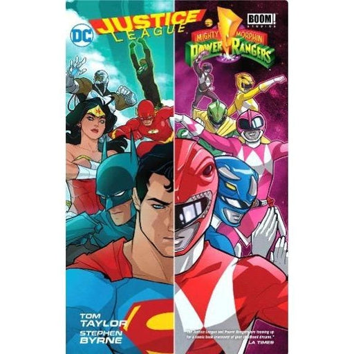 JUSTICE LEAGUE POWER RANGERS HC - Books-Graphic-Novels