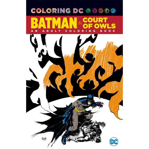 BATMAN THE COURT OF OWLS COLORING BOOK TPB - Books-Graphic-Novels