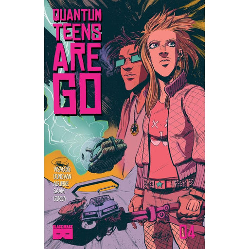 QUANTUM TEENS ARE GO #4 - Comics