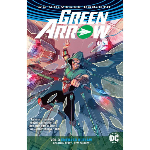 GREEN ARROW VOLUME 3 EMERALD OUTLAW (REBIRTH) TPB - Books Graphic Novels