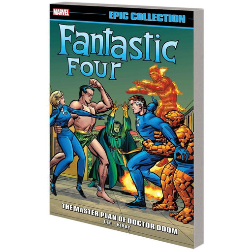 FANTASTIC FOUR EPIC COLL MASTER PLAN OF DOCTOR DOOM TPB - Books-Graphic-Novels