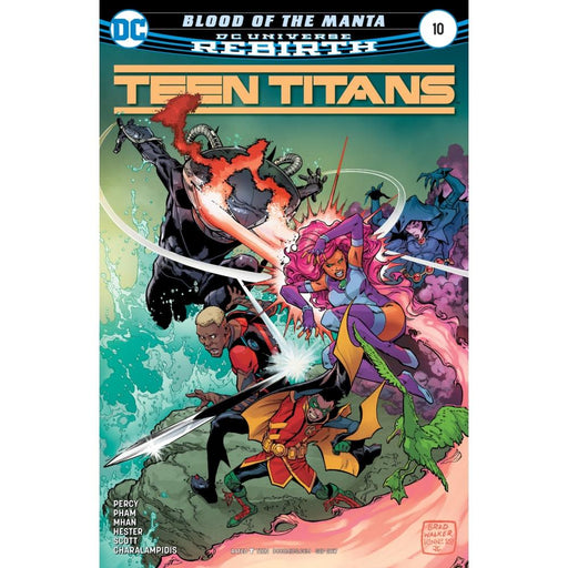 TEEN TITANS #10 - COMIC BOOK - Comics
