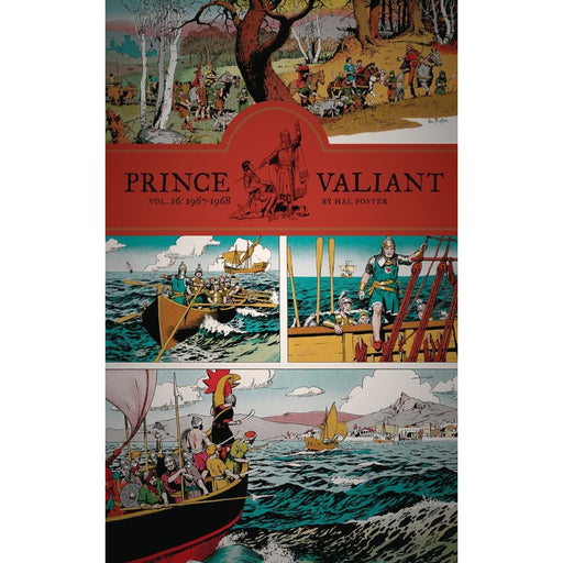 PRINCE VALIANT HC 16 1967-1968 - Books-Graphic-Novels