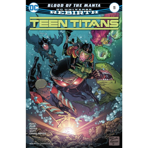 TEEN TITANS #11 - COMIC BOOK - Comics