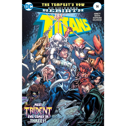 TITANS #14 - COMIC BOOK - Comics
