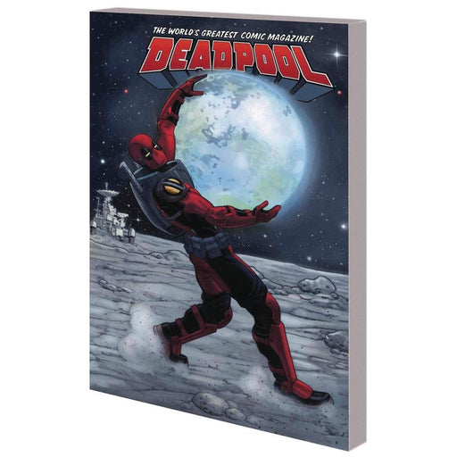DEADPOOL WORLDS GREATEST VOL 09 DEADPOOL IN SPACE TPB - Books-Graphic-Novels