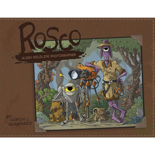 ROSCO ALIEN PHOTOGRAPHER - Books Graphic Novels