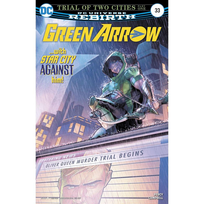 GREEN ARROW #33 - COMIC BOOK - Comics