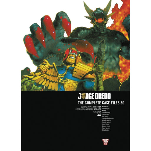 JUDGE DREDD COMP CASE FILES 30 TPB - Books-Graphic-Novels