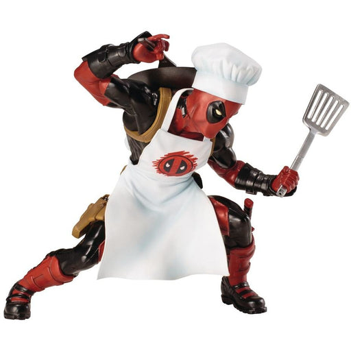 MARVEL UNIVERSE COOKING DEADPOOL ARTFX+ STATUE - Toys/Models