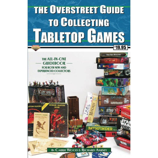 OVERSTREET GUIDE SC COLLECTING TABLETOP GAMES - Books Novels/SF/Horror