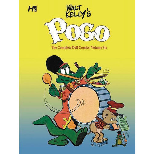 WALT KELLY POGO COMP DELL COMICS HC 06 - Books-Graphic-Novels