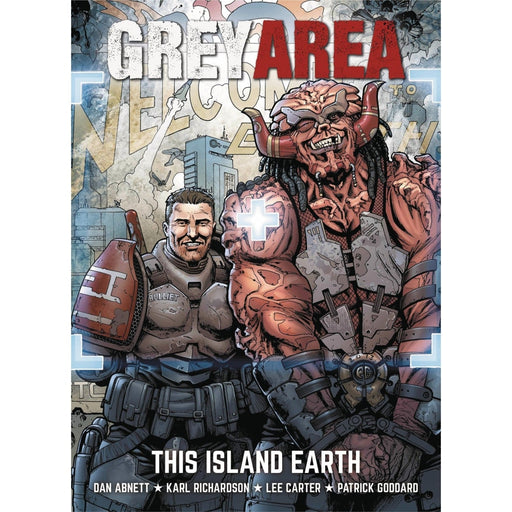 GREY AREA THIS ISLAND EARTH TPB - Books-Graphic-Novels