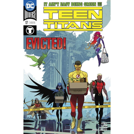 TEEN TITANS #17 - COMIC BOOK - Comics