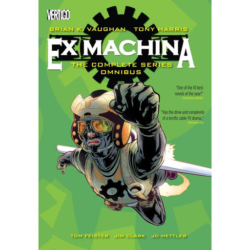 EX MACHINA THE COMPLETE SERIES OMNIBUS - Books-Graphic-Novels