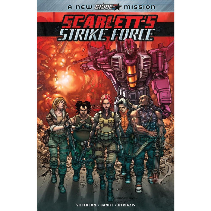 SCARLETTS STRIKE FORCE 01 TPB - Books-Graphic-Novels