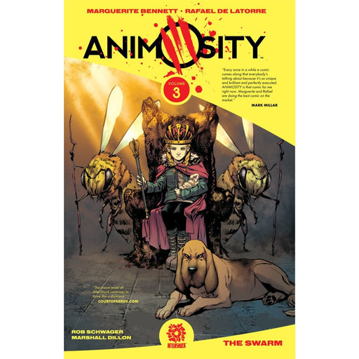 ANIMOSITY TP VOLUME 3 THE SWARM TPB - Books Graphic Novels
