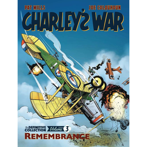 CHARLEYS WAR DEFINITVE COLL TP VOLUME 3 REMEMBERANCE TPB - Books Graphic Novels