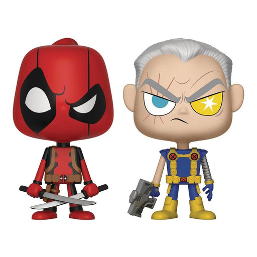 VYNL MARVEL COMICS DEADPOOL & CABLE VINYL FIGURE 2PK - Toys/Models