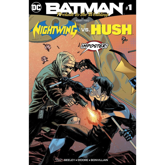 BATMAN PRELUDE TO THE WEDDING NIGHTWING VS HUSH #1 - Comics
