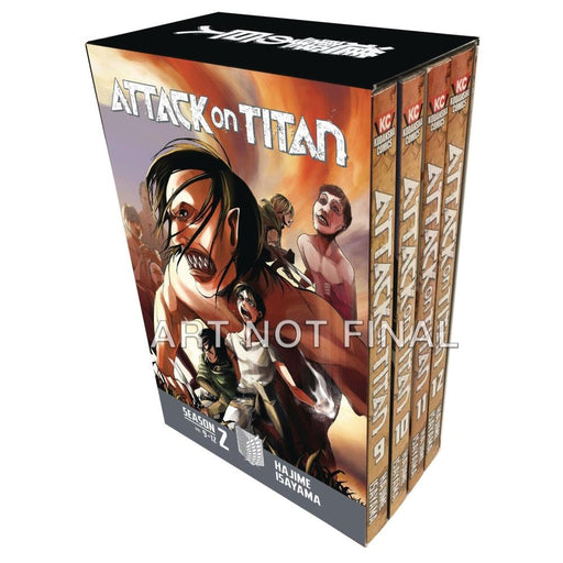 ATTACK ON TITAN SEASON TWO BOX SET VOLUME 1 - Books Graphic Novels