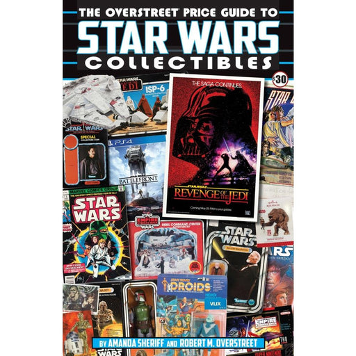 OVERSTREET PRICE GUIDE TO STAR WARS COLLECTIBLES SC - Books Novels/SF/Horror