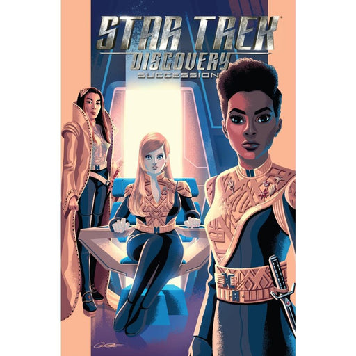 STAR TREK DISCOVERY SUCCESSION TPB - Books Graphic Novels