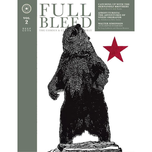 FULL BLEED COMICS & CULTURE QUARTERLY HARDCOVER VOLUME 2 - Books Graphic Novels