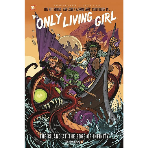 ONLY LIVING GIRL GN VOLUME 1 ISLAND AT EDGE OF INFINITY - Books Graphic Novels