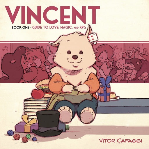 VINCENT GN BOOK 01 GUIDE TO LOVE MAGIC & RPG - Books Graphic Novels