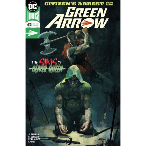 GREEN ARROW #43 - COMIC BOOK - Comics