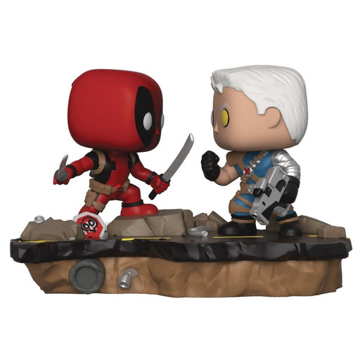 POP MARVEL COMIC MOMENT DEADPOOL VS CABLE VIN FIG - Toys/Models