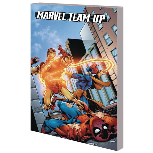 SPIDER-MAN IRON MAN MARVEL TEAM-UP TP - Books Graphic Novels