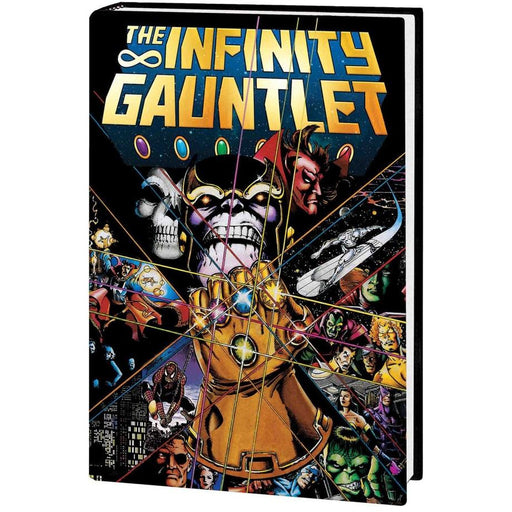 INFINITY GAUNTLET DELUXE EDITION TPB - Books Graphic Novels