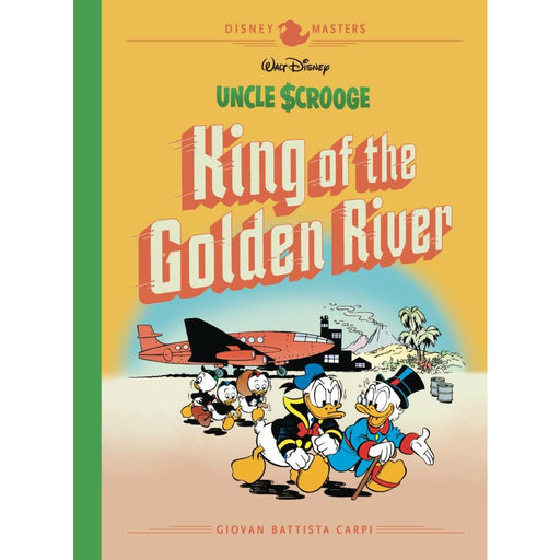 DISNEY MASTERS HARDCOVER VOLUME 6 CARPI SCROOGE GOLDEN RIVER - Books Graphic Novels