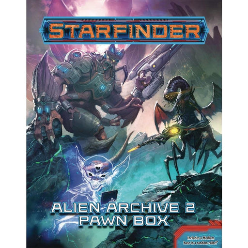 STARFINDER PAWNS ALIEN ARCHIVE 2 PAWN BOX - Games
