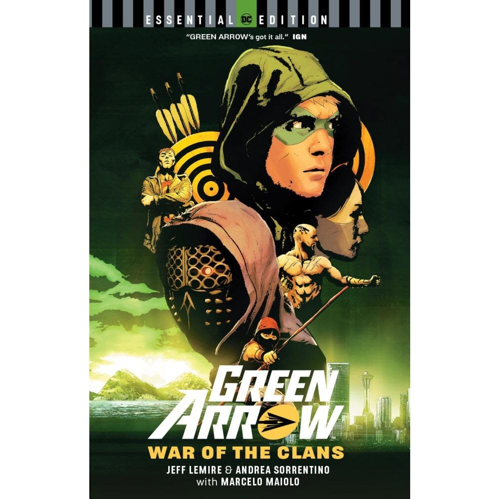 GREEN ARROW WAR OF THE CLANS ESSENTIAL EDITION TP - Books Graphic Novels