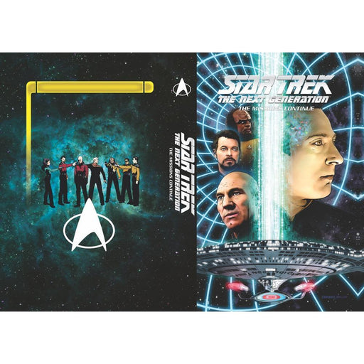 STAR TREK TNG HARDCOVER MISSIONS CONTINUE - Books Graphic Novels