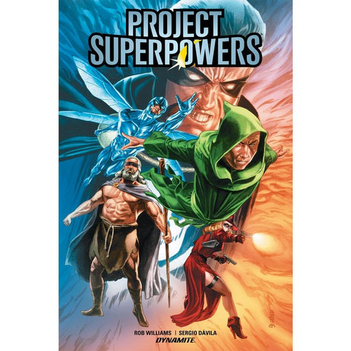 PROJECT SUPERPOWERS (2018) HARDCOVER VOLUME 1 EVOLUTION - Books Graphic Novels