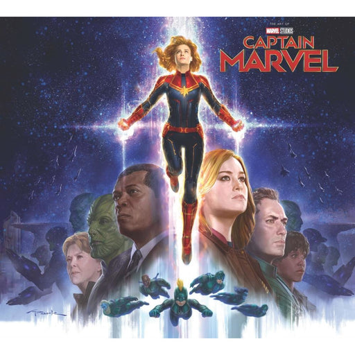MARVELS CAPTAIN MARVEL HARDCOVER ART OF MOVIE SLIPCASE - Books Graphic Novels
