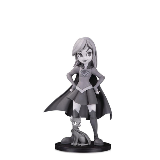 DC ARTISTS ALLEY SUPERGIRL B&W BY ZULLO PVC FIGURE - Toys/Models