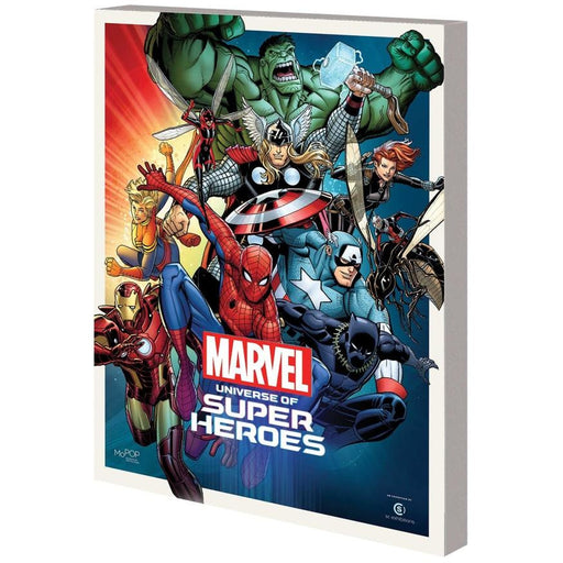 MARVEL UNIVERSE SUPER HEROES MUSEUM EXHIBIT GUIDE TPB - Books Graphic Novels