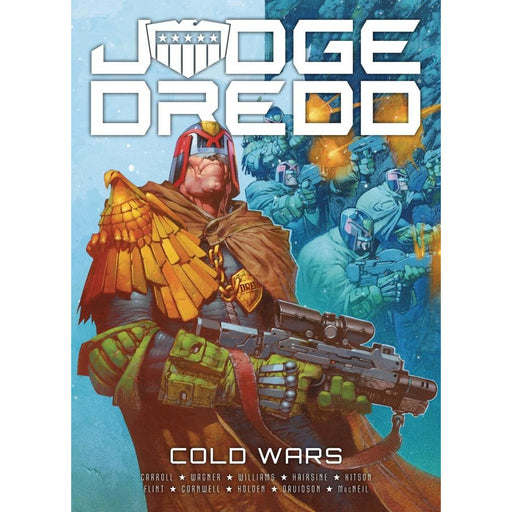 JUDGE DREDD COLD WARS TP - Books Graphic Novels