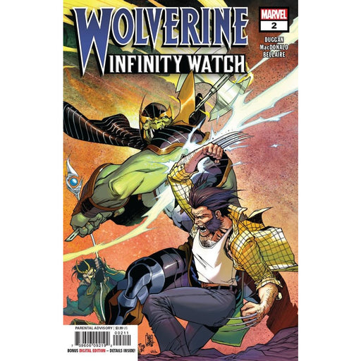 WOLVERINE INFINITY WATCH #2 (OF 5) - COMIC BOOK - Comics