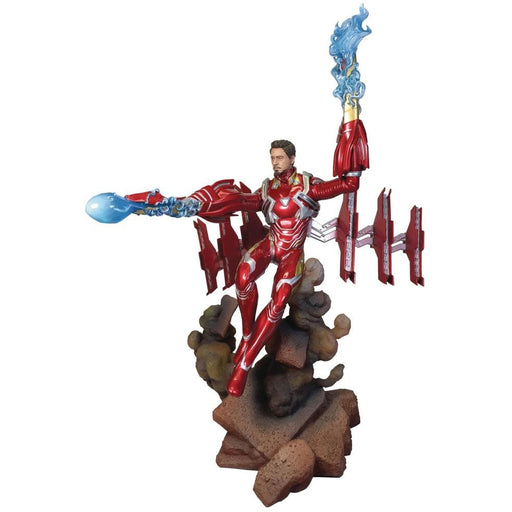 MARVEL GALLERY AVENGERS 3 UNMASKED IRON MAN MK50 DLX PVC FIGURE - Toys/Models