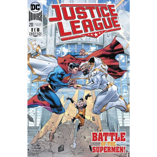 JUSTICE LEAGUE #20 - COMIC BOOK - Comics