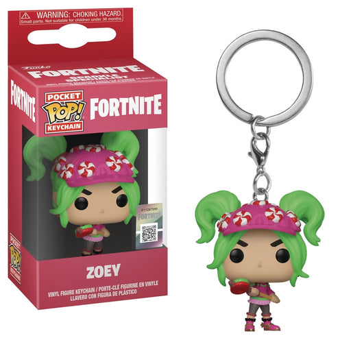 POCKET POP FORTNITE S2 ZOEY KEYCHAIN - Toys/Models