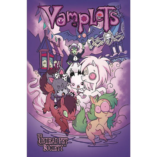 VAMPLETS UNDEAD PET SOCIETY TPB - Books Graphic Novels